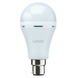 Lumetic 9W B22 Rechargeable Inverter LED Bulb