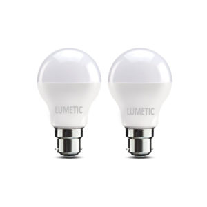 Lumetic Ace Saver B22 9-Watt LED Bulb (Cool Day Light, Pack of 2)