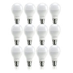 Lumetic Unbreakable Cool Day Light LED Bulb (9 watts) – Pack of 12