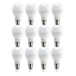 Syska Unbreakable Cool Day Light LED Bulb (9 watts) – Pack of 12
